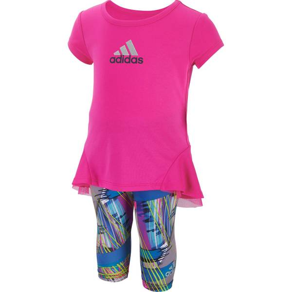 Baby Girls' Tunic & Printed Capris Set