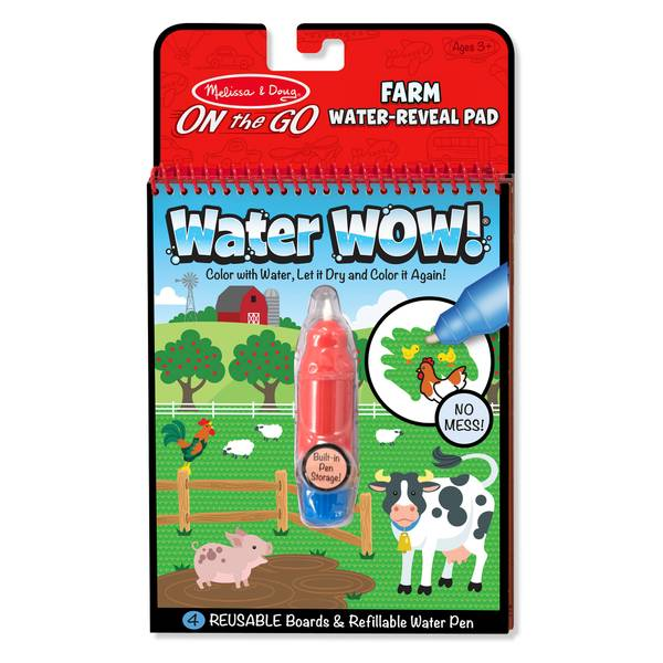 Water Wow Farm - On the Go Travel Activity