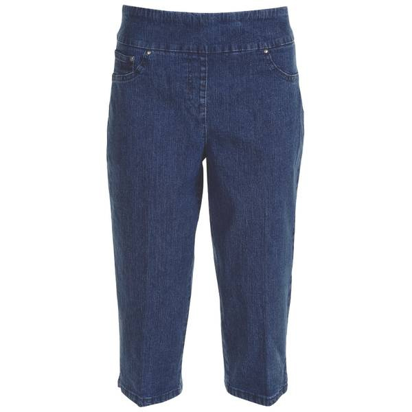 Misses Pull On Denim Stretch Pant
