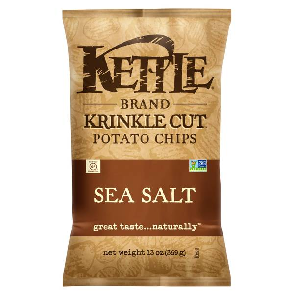 Krinkle Cut Sea Salt Potato Chips