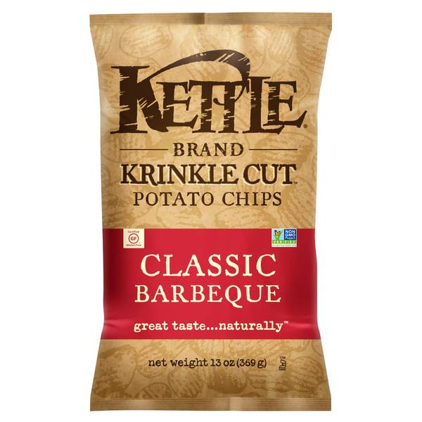 Classic BBQ Krinkle Cut Potato Chips