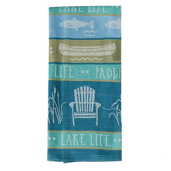 Lake Retreat Jacquard Dish Towel