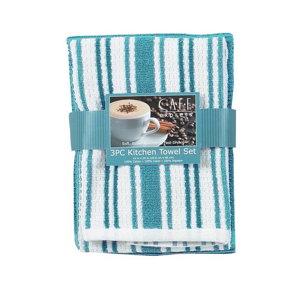 Kay dee designs three piece multi weave kitchen towels Kay dee designs kitchen towels