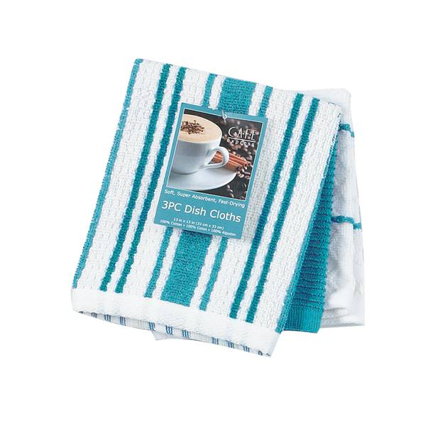 Kay Dee Designs 3-Piece Terry Dish Cloths Set