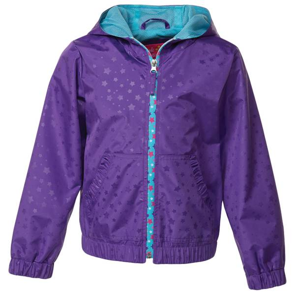 Little Girls' Star Print Jacket