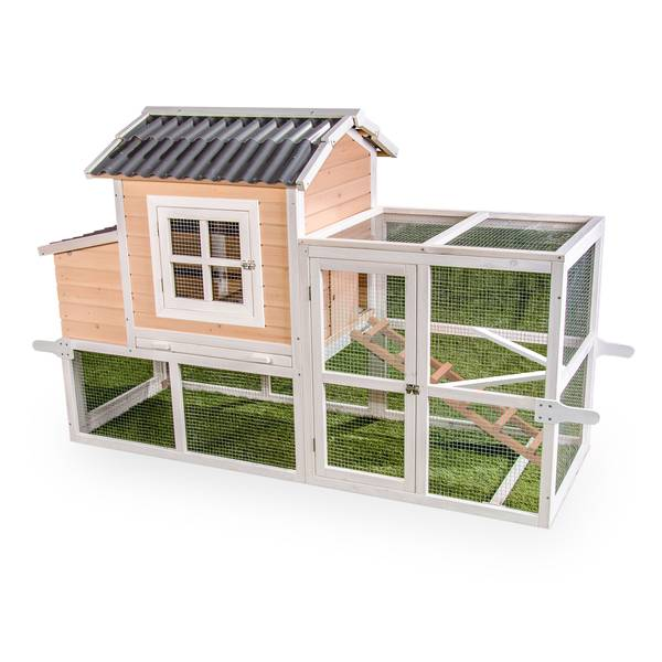 Brilliant Premium Big Dutch Barn Chicken Coop With Pen Interior Design Ideas Clesiryabchikinfo
