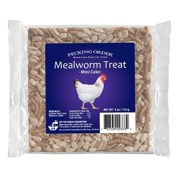 Mealworm Treat Cake