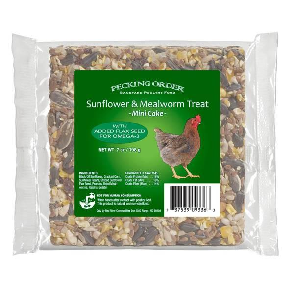 Mealworm & Sunflower Cake