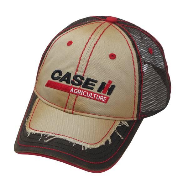 Case IH Distressed 2-Tone Trucker Cap
