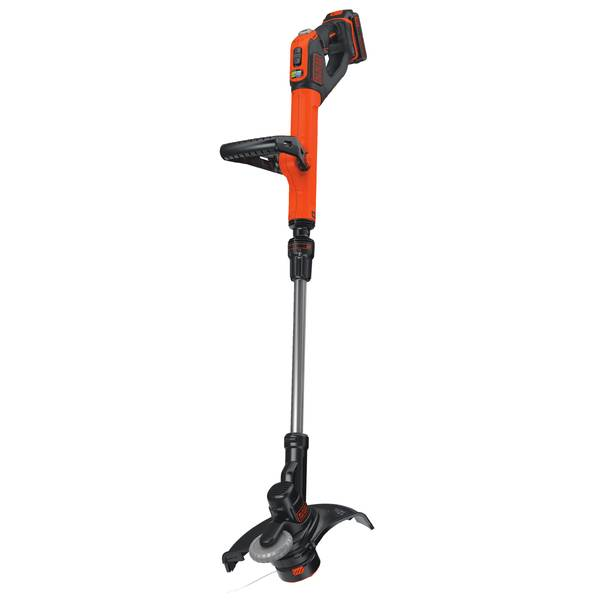 EASYFEED Electric String Trimmer/Edger + 2 Lithium-Ion Batteries