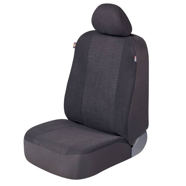 Dickies 2 -Piece Gray Hudson Seat Cover