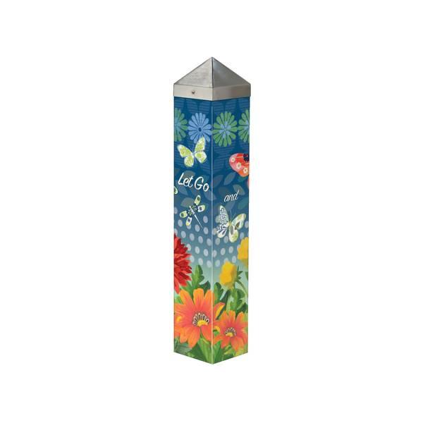 Butterfly Art Pole