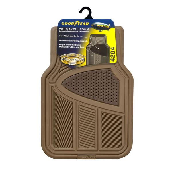 4-Piece Floor Mat