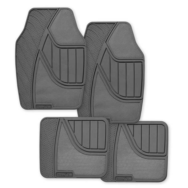 4-Piece Premium Floor Mat Set