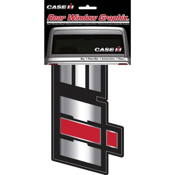 CASE IH Rear Window Graphix Decal