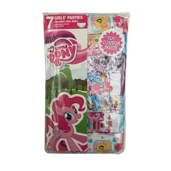Girls' My Little Pony Panties - 7 Pack