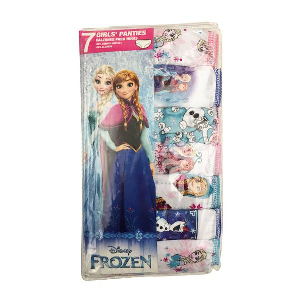 Girls' Frozen Panties - 7 Pack
