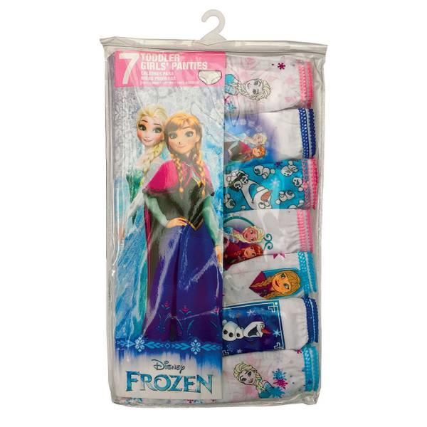 Toddler Girls' Frozen Panties - 7 Pack