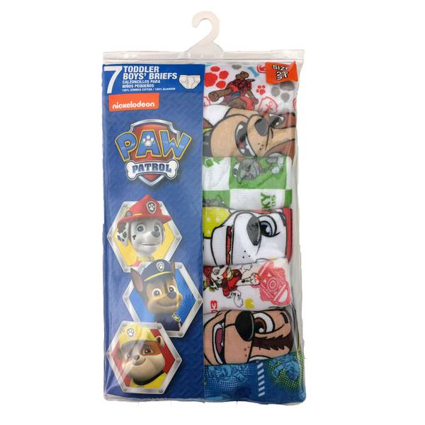 Toddler Boys' Paw Patrol Briefs - 7 Pack
