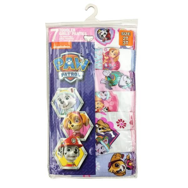 Toddler Girls' Paw Patrol Panties - 7 Pack