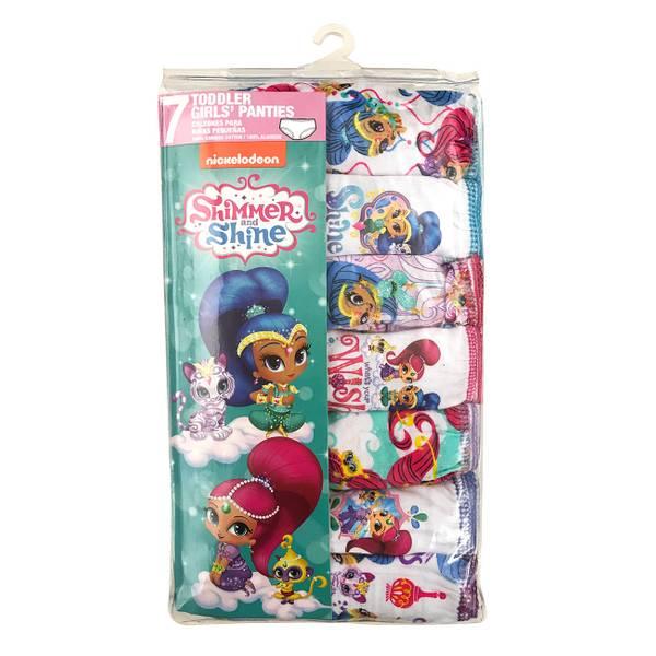 Toddler Girls' Shimmer & Shine Panties - 7 Pack