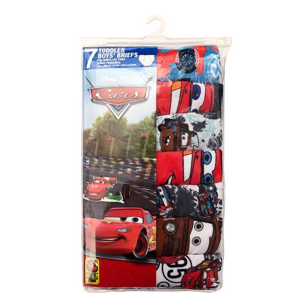 Toddler Boys' Cars Briefs - 7 Pack