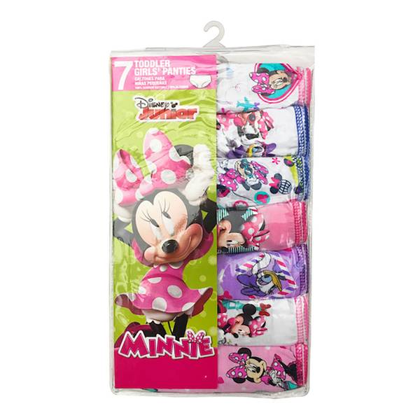 Toddler Girls' Minnie Mouse Panties - 7 Pack
