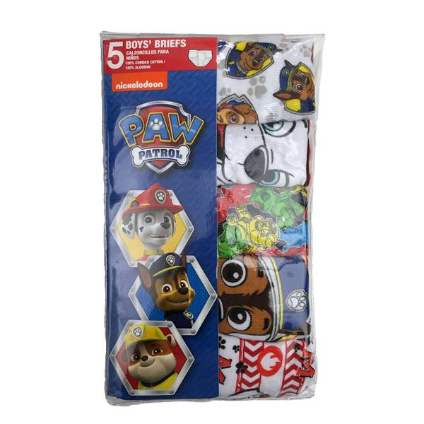 Boys' Paw Patrol Briefs - 5 Pack