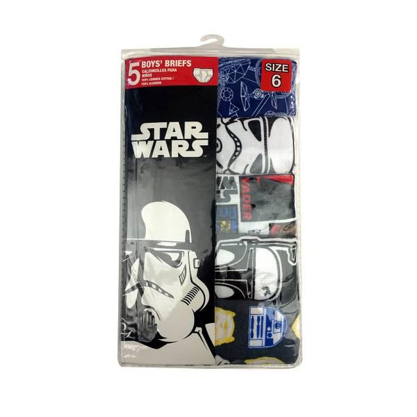 Boys' Star Wars Briefs 5-Pack