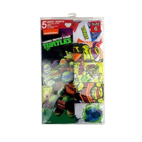 Boys' Teenage Mutant Ninja Turtles Briefs 5-Pack