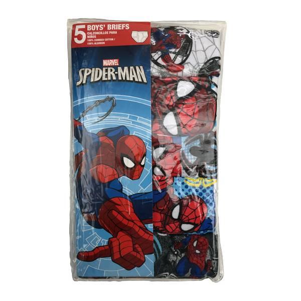Boys' Spiderman Briefs 5-Pack