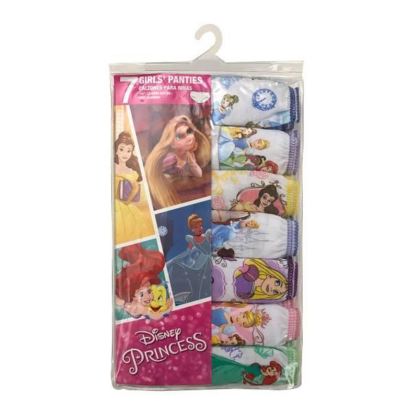 Girls' Disney Princesses Panties - 7 Pack