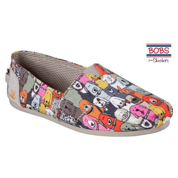 Bobs Women's Plush Wag Party Slip-On Shoe