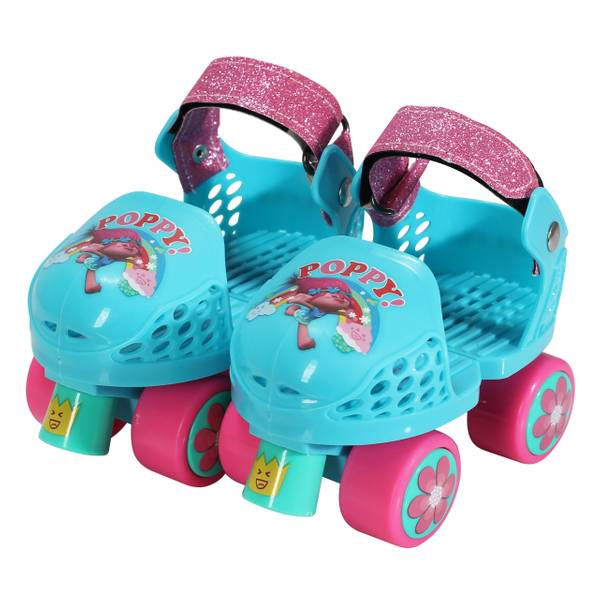 Trolls Kids Roller Skates & Knee Pads