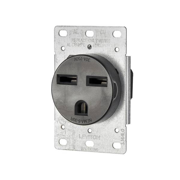30A 250V AC Heavy Duty Receptacle