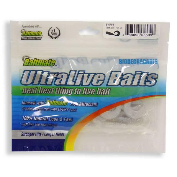 Coleman baitmate ultimate baits grub for Baitmate fish attractant