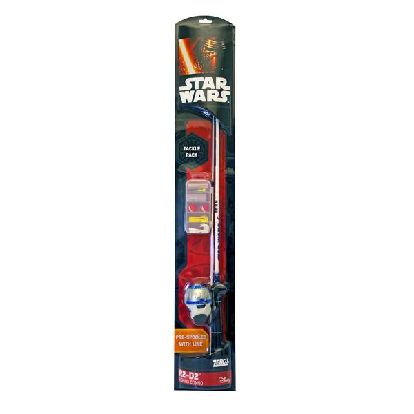 Zebco star wars spincast combo for Kids fishing poles walmart