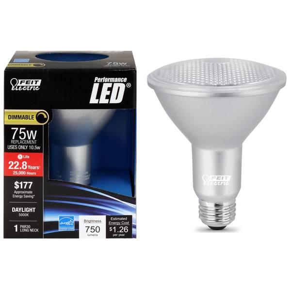 105W/75W LED PAR30 Light Bulb, E26 Base
