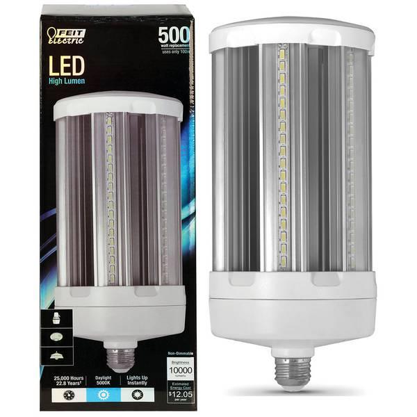 100W/500W 10000 Lumen LED Yard Light