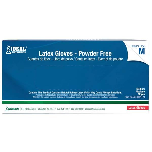 Neogen 100 Count Latex Gloves At300pf M Blain S Farm