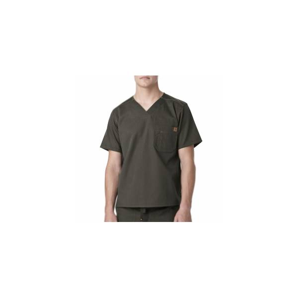 Men's Ripstop Utility Scrubs Top