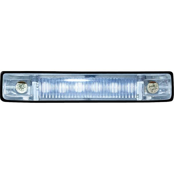 "4"" Clear LED Strip Light"