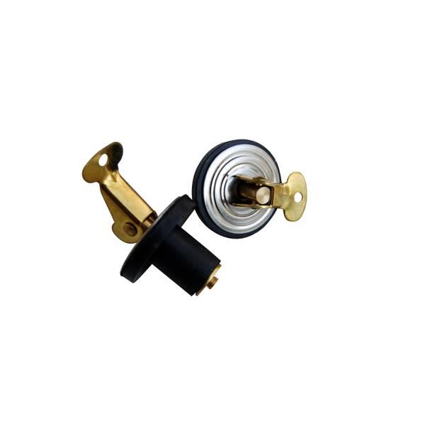 "1/2"" Brass Baitwell Bailer Plug 2-Pack"