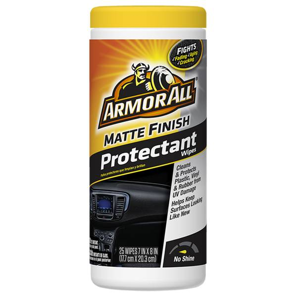 Matte Finish Protectant Wipes