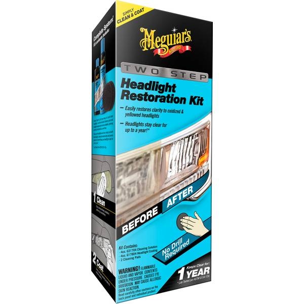 Two Step Headlight Restoration Kit