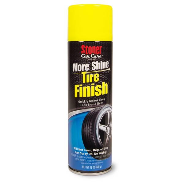 More Shine Tire Finish