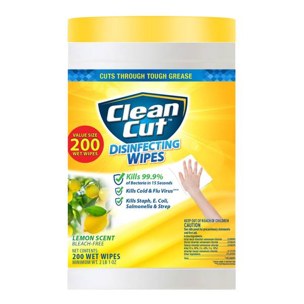 200-ct Lemon Scent Disinfectant Wipes