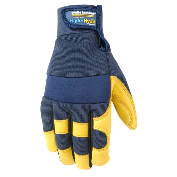HydraHyde Grain Cowhide Gloves with Comfort Closure