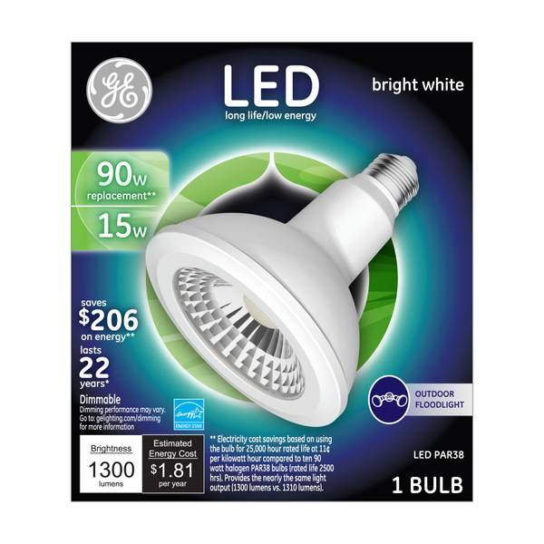 Dimmable LED PAR38 Outdoor Light Bulb