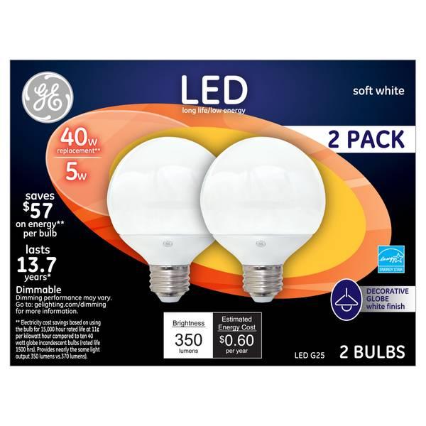 G25 Globe Light Bulb